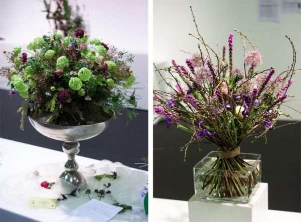Floristik Blumensträuße Schneeball Allium