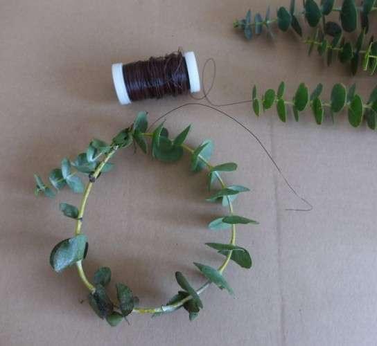 DIY Eukalyptus Mini Kraenze sophiagaleria