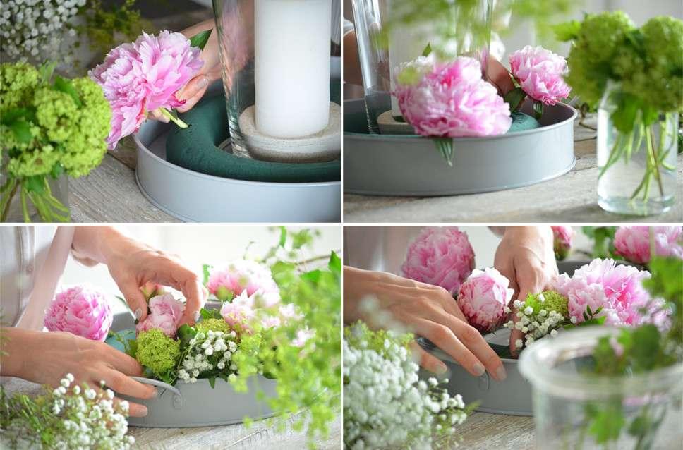 Tischdeko Selber Machen Sommerliche Blumendekoration Mit Frischen