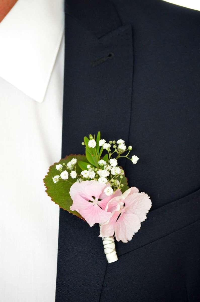 Hochzeitsanstecker selber machen material
