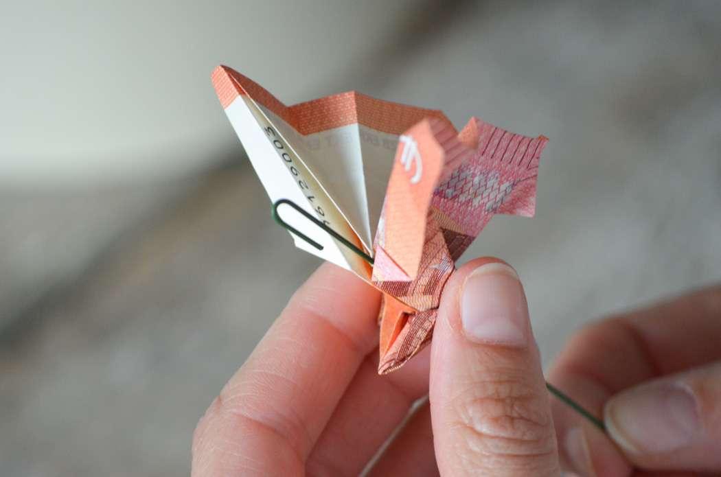Ohne blume draht falten geld Geld falten: