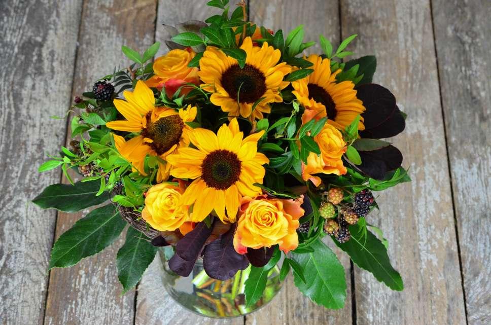 Blumenstrauss Selber Binden Herbststrauss Fur Die Vase Blumigo