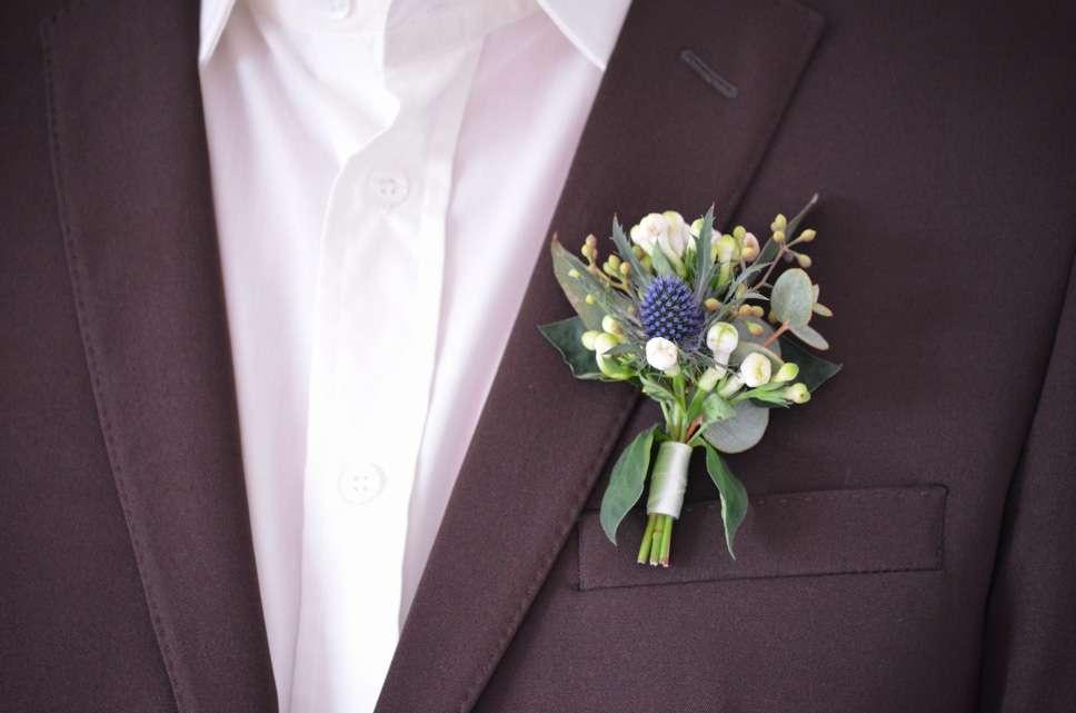 Blaugrauen Anstecker Selber Machen Diy Hochzeits Reihe Teil 2
