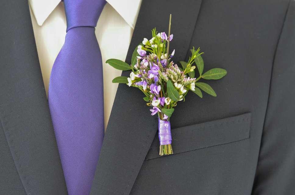Hochzeit In Der Trendfarbe Ultra Violett Teil 4 Anstecker Fur Den