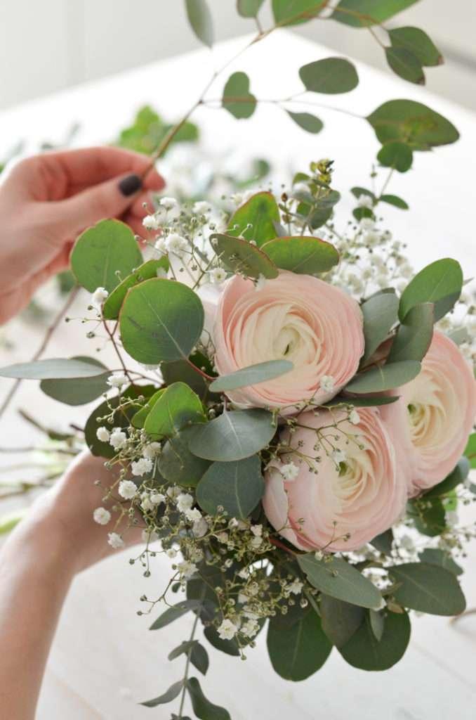 Eukalyptus Hochzeit Teil 1 Brautstrauss Selber Binden Blumigo