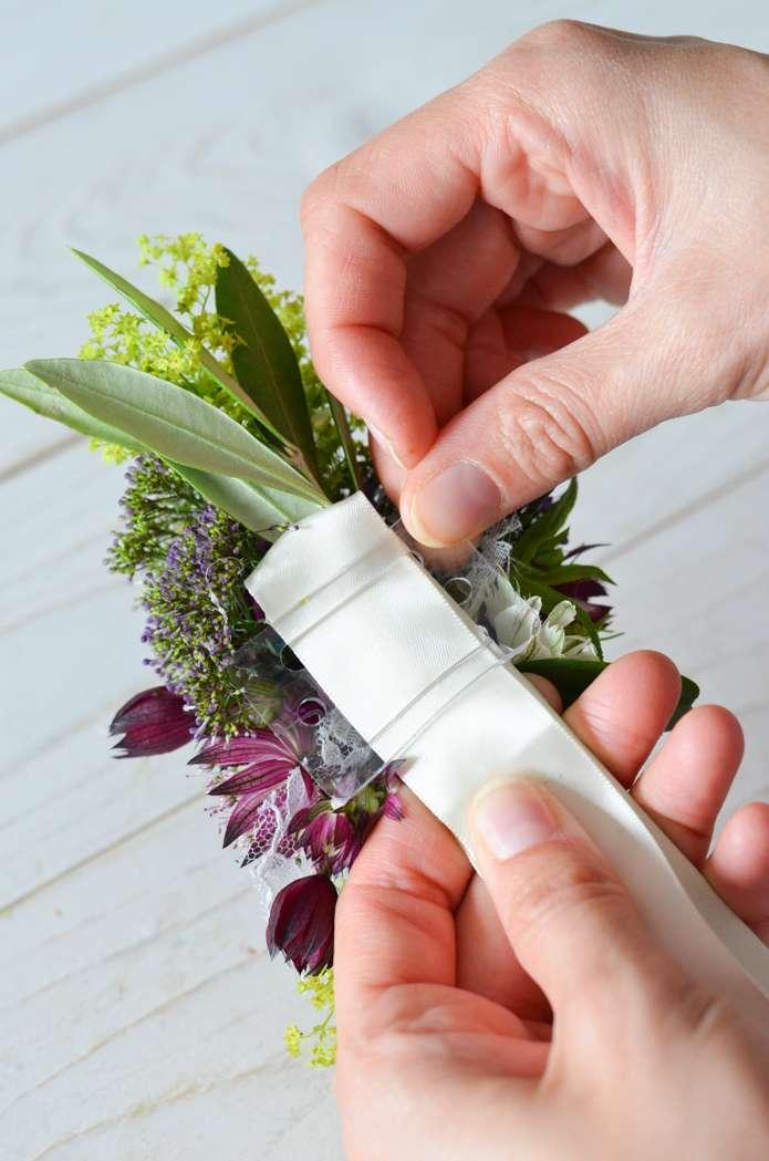Wildblumen Hochzeit Teil 3 Blumenarmband Fur Brautjungfern Selbst