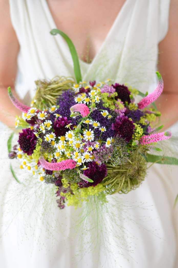 Wildblumen Hochzeit Teil 1 Brautstrauss Selber Binden Blumigo