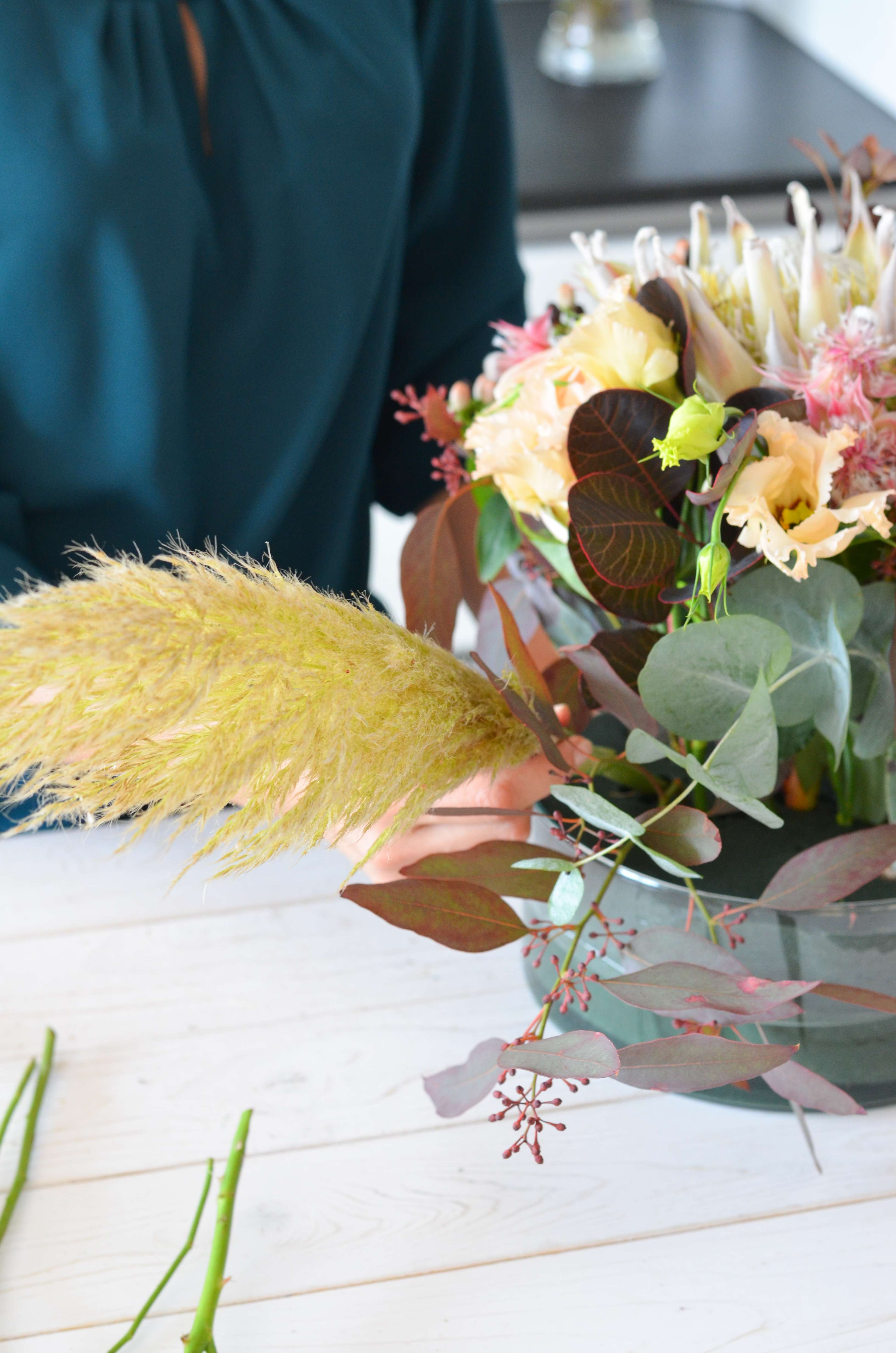Tischdeko In Blush Und Burgundy Selber Machen Elegante Hochzeit