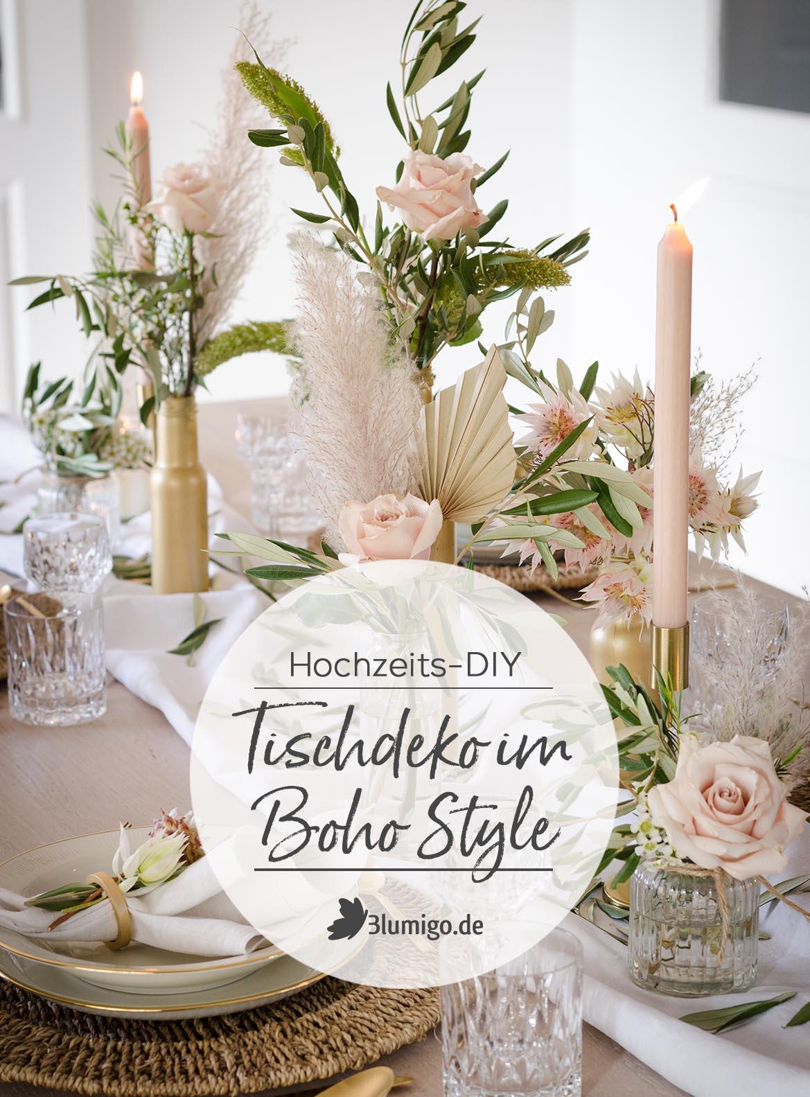 Herbstliche Hochzeit Im Boho Style Teil 2 Tischdeko