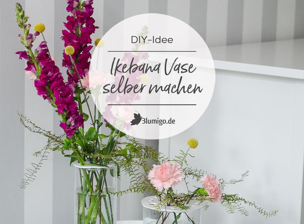 DIY - Eine Ikebana Vase selber machen