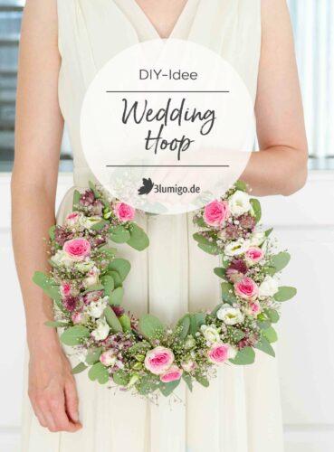 Hochzeit blumiger Wedding Hoop