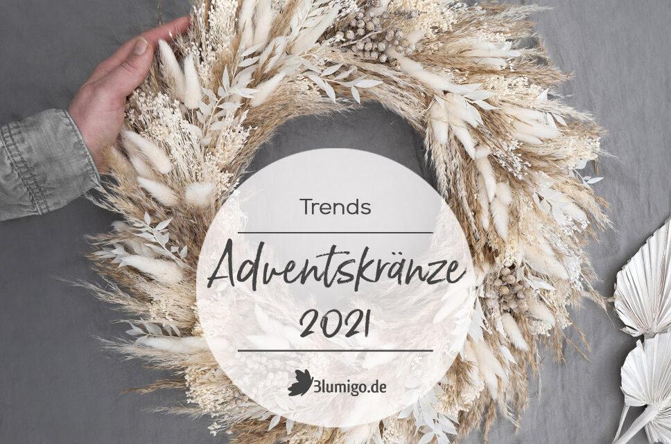 Adventskranz DIY Trends 2021